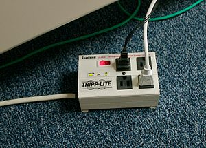 English: surge suppressor
