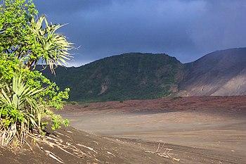 Vanuatu le volcan Yasur sur l'île Tanna la pla...