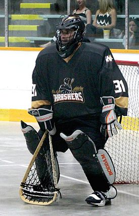 Goaltender (box lacrosse)  Wikipedia