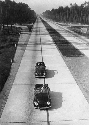 German Motorway (Reichsautobahn) 1943