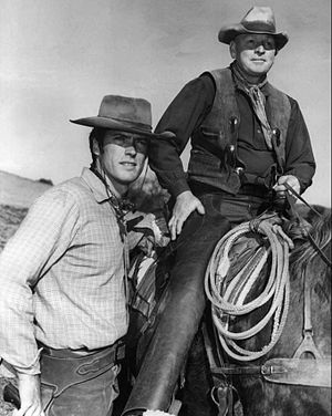 Photo of Clint Eastwood and Don Hight from the...