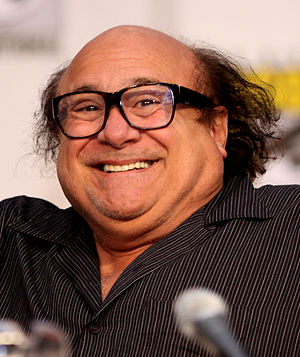 Danny DeVito at the 2010 Comic Con in San Diego