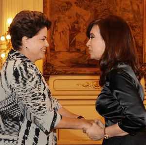 English: Dilma Rousseff, president of Brazil w...