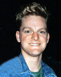 Andy Bell of Erasure in 1986