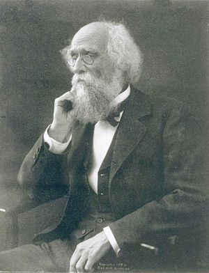 Joseph LeConte (1823-1901), American geologist...