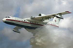 beriev be-200, air tanker, amphibian, jet, water bomber