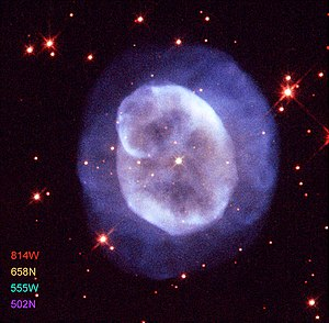 Planetary nebula NGC 5979