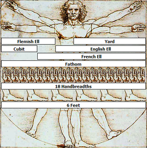 This derivation of the Vitruvian Man by Leonar...