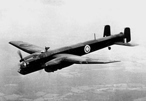 A Royal Air Force Armstrong Whitworth Whitley ...