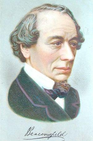 English: Benjamin Disraeli, 1st Earl of Beacon...