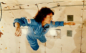 Sharon Christa McAuliffe received a preview of...
