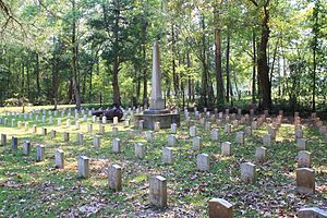 English: The Confederate Unknown Cemetery in G...