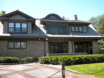 Buffett's home in Omaha