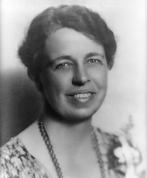 Anna Eleanor Roosevelt, head-and-shoulders por...