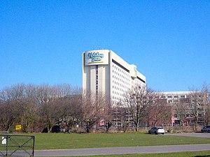 English: Heathrow Holiday Inn Built in the lat...