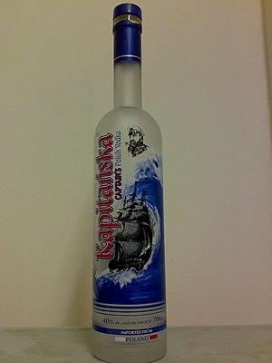 English: Kapitanska-captain's Polish vodka
