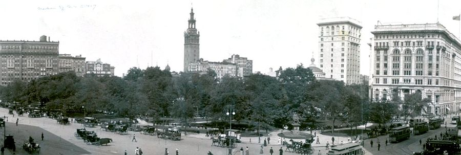 Madison Square Park 1908 - Madison Square Garden Tower - wikipedia
