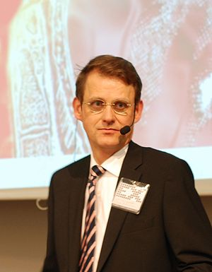 Swedish Brain researcher Martin Ingvar at the ...