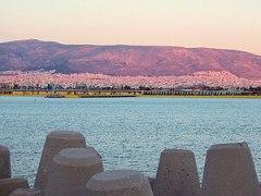 Twilight over Piraeus.