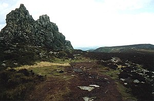 The Stiperstones feature in the literary works...