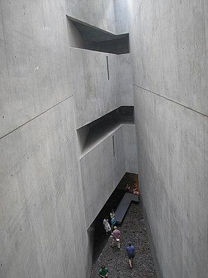 A viod in the Jewish Museum, Berlin
