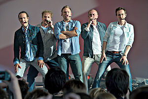 """English: The german acapella group """"Wise Guys""""..."""