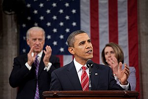 President Barack Obama delivers the 2010 State...