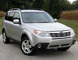 2010 Subaru Forester 2.5X Limited (US)