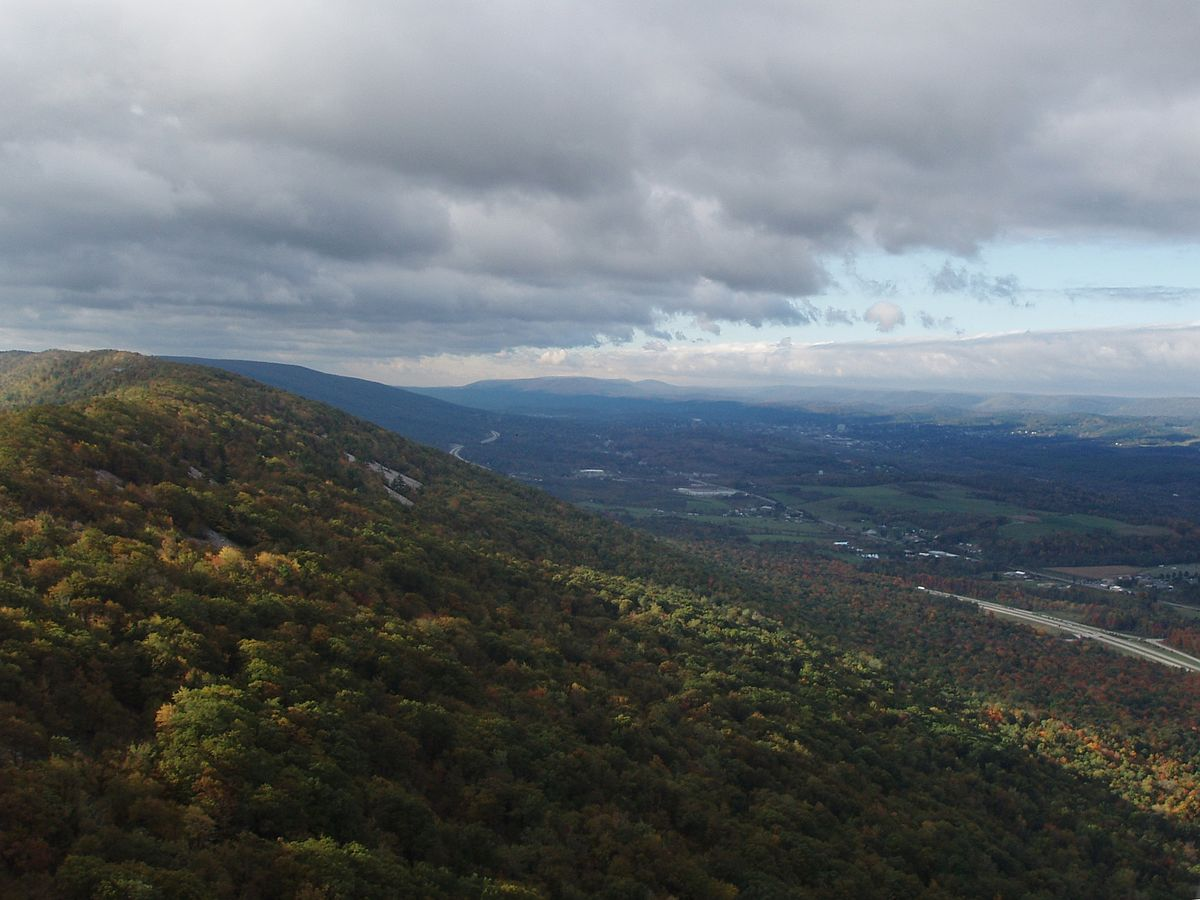 What Are Mountain Ranges Pennsylvania