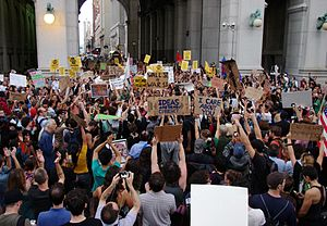 English: Friday, Day 14 of Occupy Wall Street ...