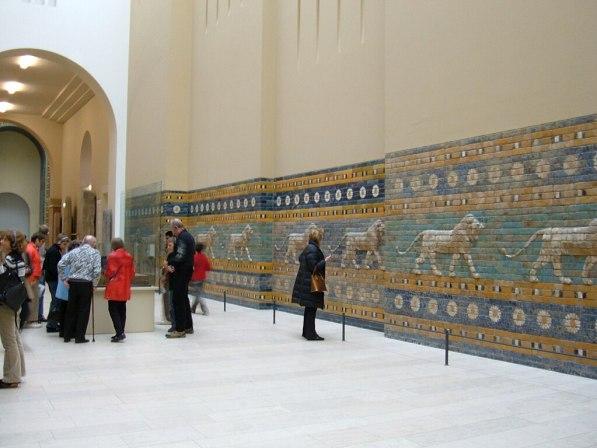 Ishtar Gate Processional Way section, Pergamon Museum