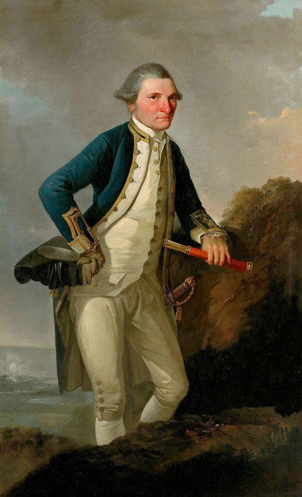 John Webber - Portrait of Captain James Cook - Google Art Project