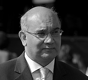 Keith Vaz, British Labour politician, at a mar...
