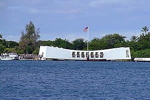 Le mémorial de Pearl Harbour