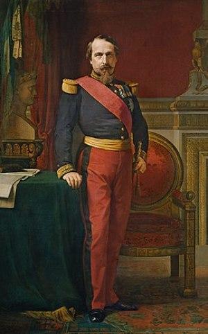 Napoleon III in 1863