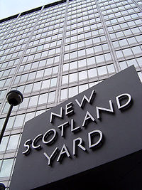 Sede de Scotland Yard, Londres.