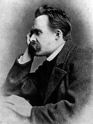 Portrait of Friedrich Nietzsche, 1882; One of ...
