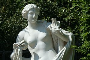 The Nereid Galatea listening with surprise to ...