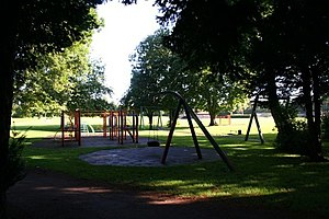 Play ground in the trees Nice shady place for ...