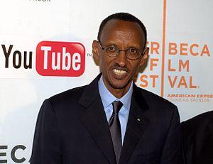 English: President Paul Kagame of Rwanda at th...