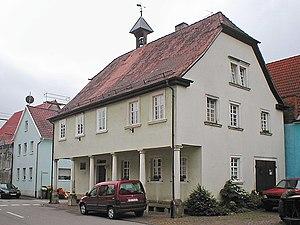 Historisches Wachhaus, zeitweise auch Rathaus,...