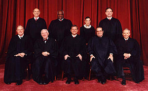 The current United States Supreme Court, the h...