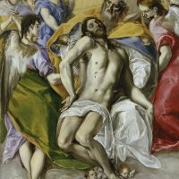 """The Holy Trinity"" by El Greco"