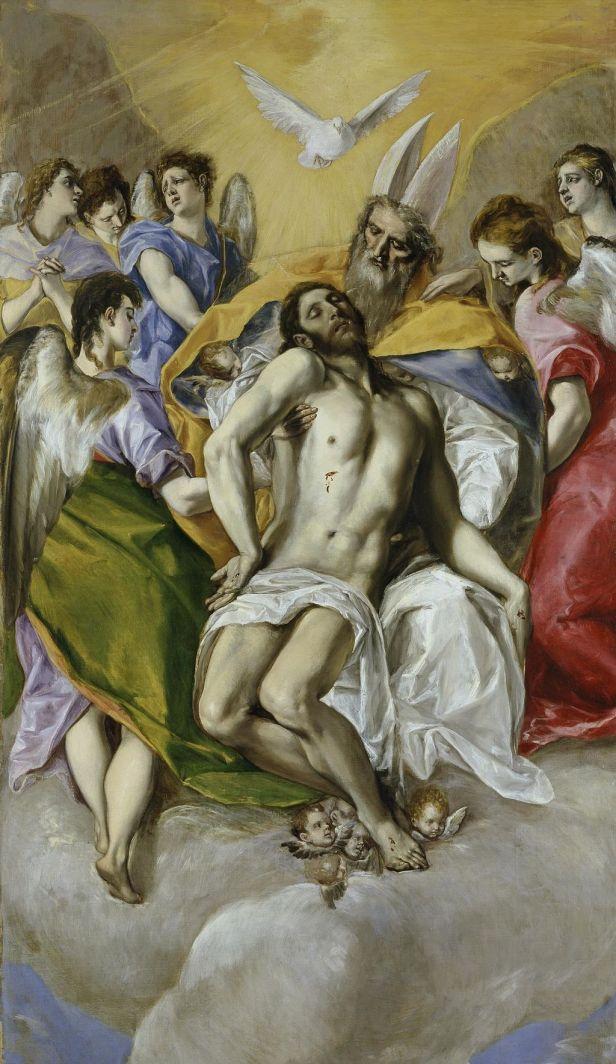 """The Holy Trinity"" by El Greco"