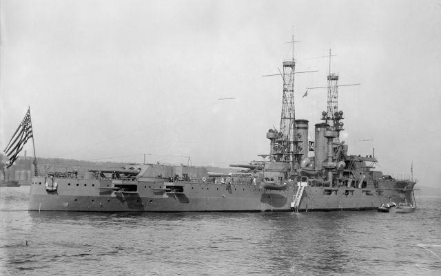 Image of the USS Utah via Wikipedia.