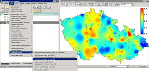 wxPython-based GRASS GIS GUI