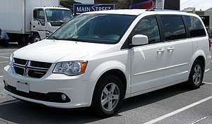 2011 Dodge Grand Caravan photographed in Largo...