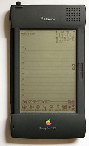 Apple Newton Beschreibung: Apple Newton Messag...