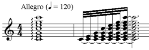 Arpeggio in C major