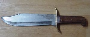Bowie Knife (500x206)(15884 bytes) - a typical...